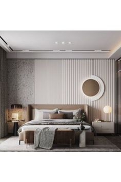 Look no further than Inspiration and Ideas to give all the design trends to enhance your Bedroom Design! Master Bedrooms are the most intimate, personal room of your home, so when it comes to Bedroom Design and decor, it deserves all the attention you can give it! #luxurybedroom #modernbedroom #luxurybedroom #bedroom #bedroomdesign #bedroomideas #interiordesign #luxurydesign Modern Luxury Bedroom, Minimal Bedroom, Master Bedroom Interior, Luxury Bedroom Design, Modern Master Bedroom, Home Room Design, Contemporary Bedroom, Luxurious Bedrooms, Home Decor Bedroom