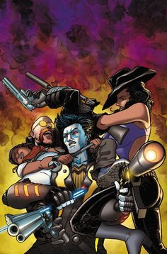 LOBO #3 Written by CULLEN BUNN Art by REILLY BROWN Cover by AARON KUDER On sale DECEMBER 3 • 32 pg, FC, $2.99 US • RATED T+ Learn the truth about Lobo, including why he left his home, how he adopted the code he lives by and how he's going to defeat six deadly assassins trying to destroy the Earth! If that's not enough, wait till you see what he does when a special guest star is revealed on the last page of this issue!