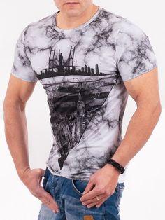 dd54cb29443 Мъжка тениска Millions Man Print New York