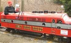 The Rocky Brook Rocket located in the Monkey Park, Opelika, AL