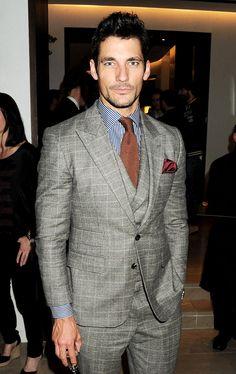David Gandy, el gran top model masculino | Galería de fotos 21 de 30 | VOGUE