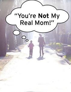 "When an adopted or foster child says ""You're Not My Real Mom"". Great info in fostering and adoption. Open Adoption, Foster Care Adoption, Foster To Adopt, Foster Mom, Foster Family, Foster Parenting, Parenting Teens, Parenting Styles, Parenting Advice"