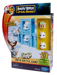 Yodasnews.com - Hasbro Announces New Angry Birds Star Wars Product Line    http://www.examiner.com/article/hasbro-teams-up-with-rovio-and-lucasfilm-for-new-angry-birds-star-wars