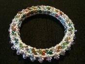 Bangle Bling bracelet multicolors.