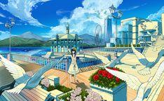 Port town by kanipanda.deviantart.com on @deviantART