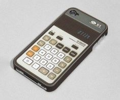 RE-Cover Retro Calculator Iphone 4 Cool Cover  #mzube #cool #gift #quirky #sale #shopping #presents #gifts #cheap #birthday   http://www.mzube.co.uk
