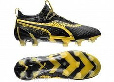 d409a027316 Puma One 1 FG AG CPA City Pack - Black   Yellow Soccer Boots