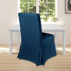 IKEA Henriksdal Dining Chair Cover, Navy Velvet   affordable, designer, custom, handmade, trendy, fashionable, locally made, high quality Ikea Dining Chair, Dining Chair Covers, Blue Velvet, Slipcovers, Accent Chairs, Cushions, Navy, Luxury, Handmade