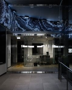 Desjardins sought the help of iGotcha Media to deploy an innovative and eye-catching digital signage solution for the opening of their downtown location. Digital Kiosk, Digital Signage Solutions, Montreal Canada, Screens, Led, Building, Canvases, Buildings, Construction