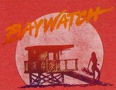 Favorite show when I was little. Baywatch Tv Show, 80s Logo, Malibu Pier, Surf Logo, Swim School, Surfs Up, Lifeguard, Movie Tv, Surfing