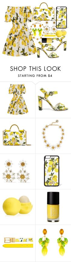 """""""Lemons!!! Dolce and Gabbana!!!"""" by aphrodite-shomaly ❤ liked on Polyvore featuring Dolce&Gabbana, Eos, Cheeky, country, women's clothing, women, female, woman, misses and juniors"""