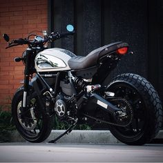 "lemoncustommotorcycles: ""Ducati Scrambler Owner: @nuiart #Chrome #Ducati…"