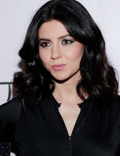 Marina and the Diamonds attends NYLON and Boohoo Music Issue Party at Dream Downtown on June 4, 2015 in New York City.