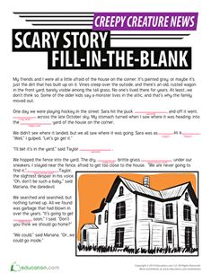 SCARY STORY WRITING TIPS