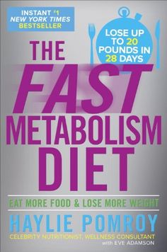 I love the scientific approach Haylie takes with the Fast Metabolism Diet.