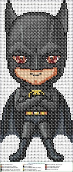 Batman Cross Stitch Image only checkout the site at -> http ...