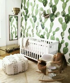 Be sure to check out our new account dedicated to all things kids! @thestylephiles_jnr features the latest and greatest in stylish kids decor just like this fabulous nursery seen on @lilyandspiceinteriors with amazing wallpaper by @anewalldecor. #succulent #wallpaper #nursery #nurserydecor #nurseryinspo #kidsroom #kidsdecor #childrensroom #interiordesign #interiorstyling #interiordecor #thestylephiles #thestylephilesjnr by thestylephiles