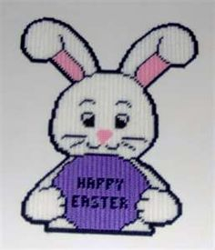 ... Plastic Canvas Pattern - Uniontown - Plastic canvas easter bunnies