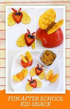 Fun After School Kid Snack  http://www.childcaresolution.org/