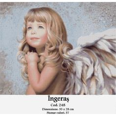 Angel 'Mercy', a painting by Nancy Noel - this is my first mosaic - almost finished! Next challenge - make it as cross stitch? Living Room Canvas Painting, Oil Painting On Canvas, Diy Painting, Stone Painting, Angel Pictures, Girl Pictures, Angel Images, Moving Pictures, Diy Photo