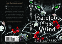 2015 full wrap artwork for Walker Books (UK) pb of Barefoot on the Wind. Design: Maria Soler Canton. Art: There.Is Studio.