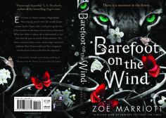 2015 full wrap artwork for Walker Books (UK) pb of Barefoot on the Wind. Design: Maria Soler Canton. Art: There.Is Studio.