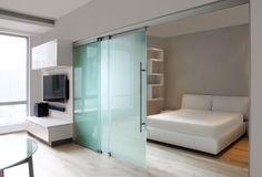 GM TOPROLL 10/14 by Glas Marte | Glass room doors