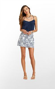 Skort instead of shorts. Marigold Skort - Lilly Pulitzer