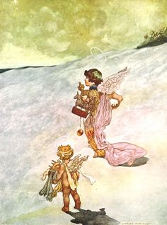 Winter from The Seasons commissioned for the 1920 Pears Annual.