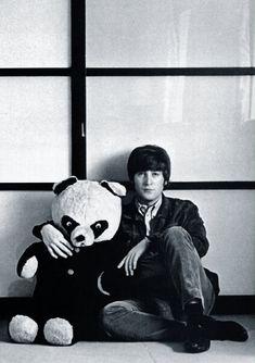 John Lennon & panda bear