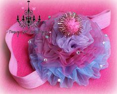 cupcake headband  birthday headband  cupcake by fancygirlbowtique, $15.00