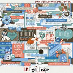 2014 Every Day Moments - January by LJS Digital Designs