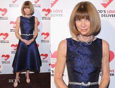 Anna Wintour In Michael Kors - Michael Kors Golden Heart Gala
