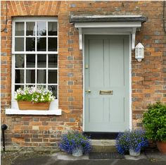 Cottage front door