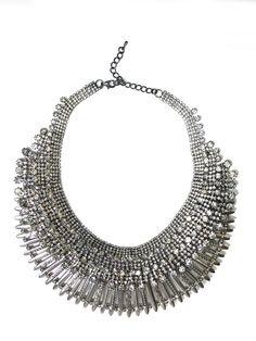 Mash Statement Layered Necklace (1)