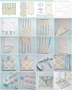 Discover thousands of images about Pom pom trim bag sewing tutorial Sewing Projects For Beginners, Sewing Tutorials, Sewing Hacks, Sewing Patterns, Fabric Crafts, Sewing Crafts, Coin Purse Tutorial, Coin Purse Pattern, Pencil Case Tutorial