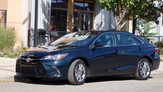 My experiences test driving the 2015 Toyota Camry SE