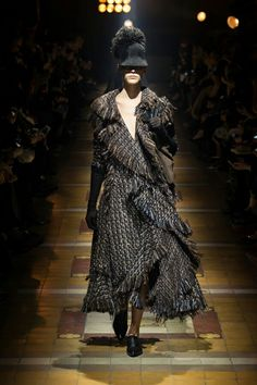 Blending of Styles in Lanvin Fall 2014 show