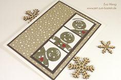 www.zeit-zum-basteln.de - Lebkuchen-Männchen mit Ausgestochen weihnachtlich von Stampin Up