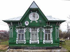 Прекрасный пример деревянного провинциального модерна
