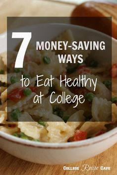 Living off campus taught me that eating healthy on a tight student budget and schedule is tricky. That's no reason to ditch eating healthy. There are ways it can be done without digging deep into your purse, wallet or free time. #college #cooking #healthy