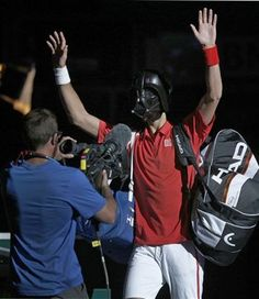 Happy Halloween from Novak Djokovic