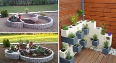 Umenie zdobenia záhrady pomocou betónových debniacich tvárnic - sikovnik.sk Plants, Planters, Plant