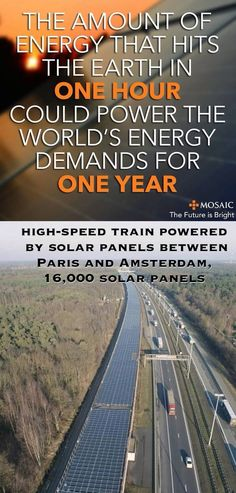 We need clean energy to stop killing our only home, earth.