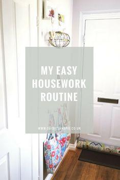 Easy housework routine