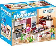 Playmobil - Cuisine Aménagée, 9269 Playmobil  https://amzn.to/2kHPkqt