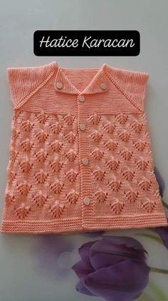 Baby Sweater Knitting Pattern, Baby Knitting, Crochet Bedspread, Baby Sweaters, Crochet Patterns, Fashion, Vest Coat, Baby Sweater Patterns, Knit Baby Sweaters