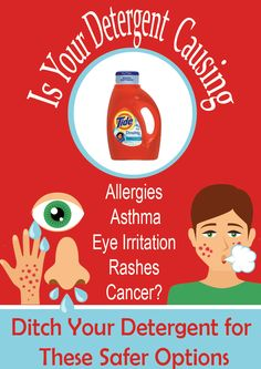 How to Spot and Avoid an Allergic Reaction to Laundry Detergent