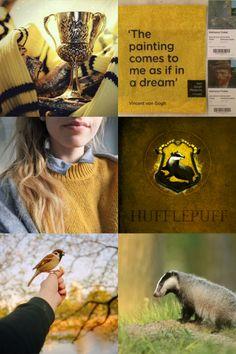 Hogwarts houses aesthetics: Hufflepuff