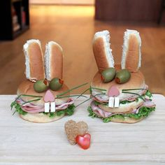 Adorable Sandwich Monsters